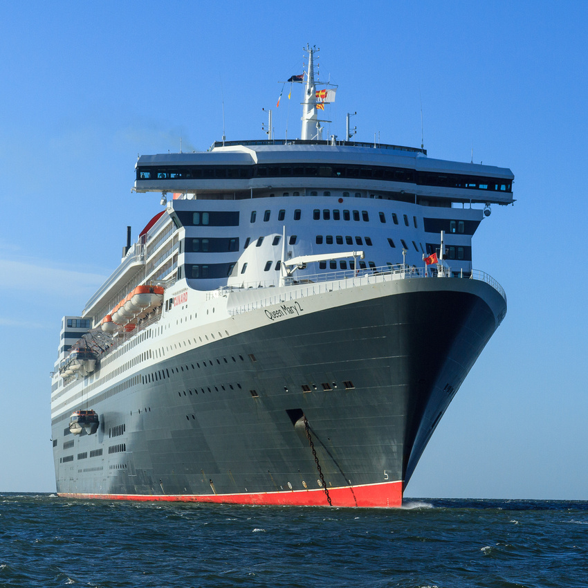 17-Queen Mary 2 by John Coveney