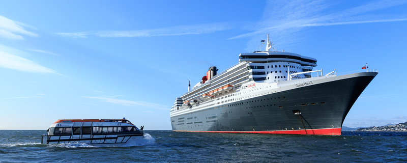 22-Queen Mary 2 by John Coveney