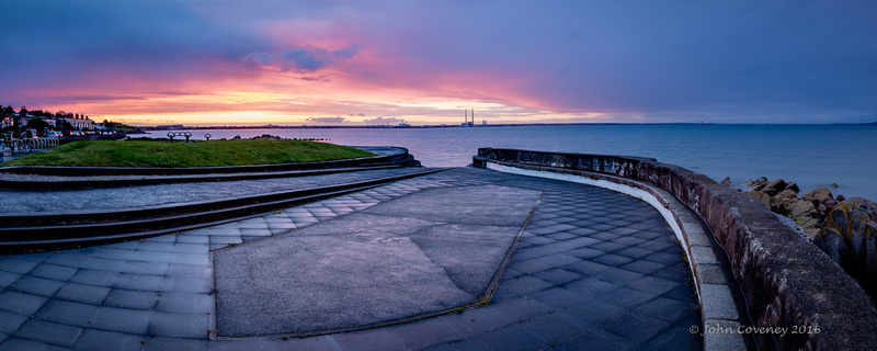 001-Sunset-after-Showers-at-Seapoint-©-2016-John-Coveney