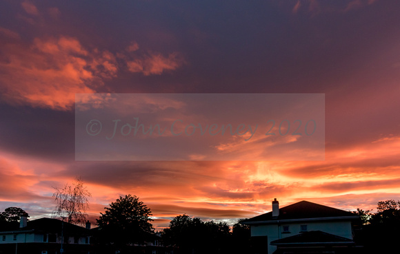 Shankill-Sunset-25May2020-John-Coveney