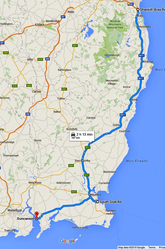 Duncanon-route