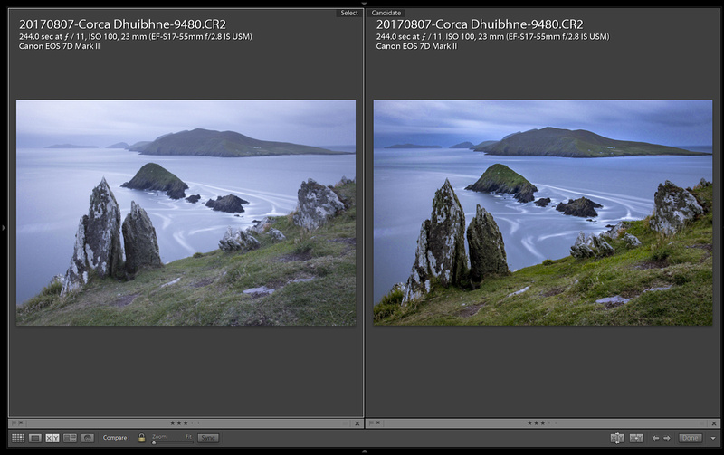 Blaskets-Dunmore-Head-Before-After
